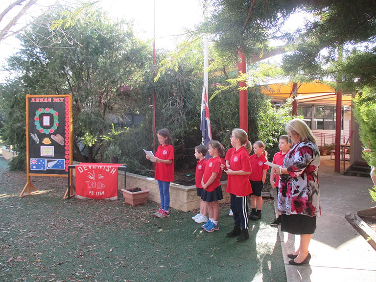 School ANZAC Day Assembly